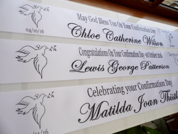 Confirmation Banner - Personalised